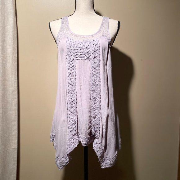 Pullover Lace Top
